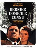 DERNIER DOMICILE CONNU