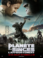LA PLANETE DES SINGES  L'AFFRONTEMENT (2014)